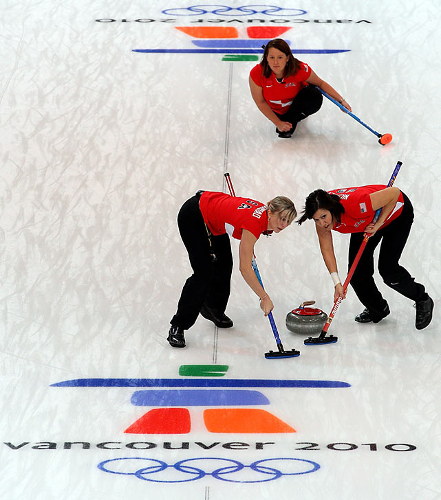 The U.S. women blew a three-point lead in their curling match and lost 9-7 to Japan.