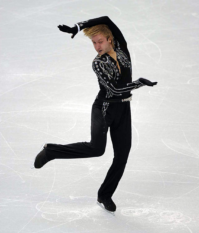 Plushenko came out of retirement to attempt to become the first man since Dick Button to repeat as Olympic champion. Button won in 1948 and '52.