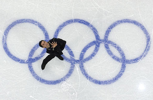 With his upset of defending champion Evgeni Plushenko, Evan Lysacek (pictured) became the first U.S. man to win the Olympic gold medal in figure skating since Brian Boitano in 1988.