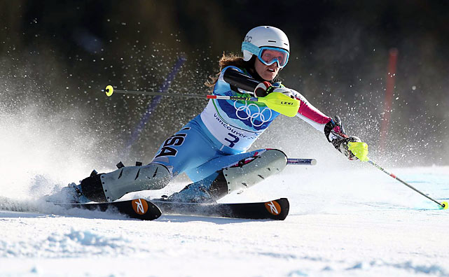 Julie Mancuso won silver in the super-combined, becoming the first American to win a medal in women's combined or super-combined since Gretchen Fraser got silver at the 1948 St. Moritz Games. She also became the first U.S. woman with three Olympic medals in Alpine skiing, matching Bode Miller for the most Alpine medals by an American.