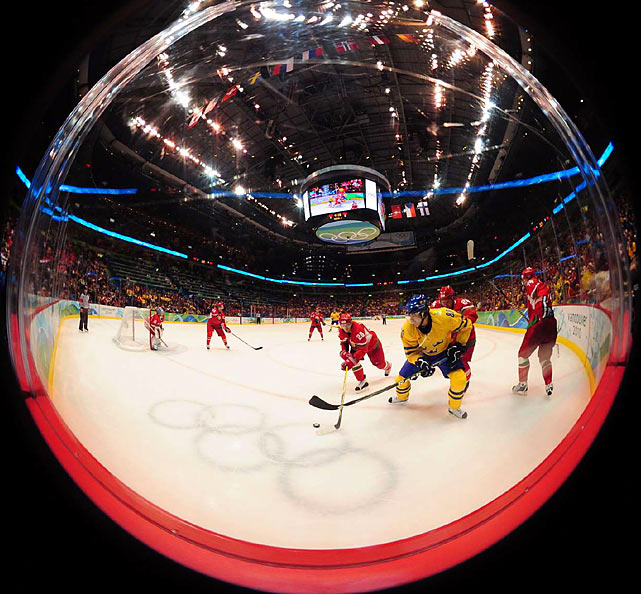 Gold medalists at the 2006 Olympics, Sweden plays archrival Finland in it's next group game.