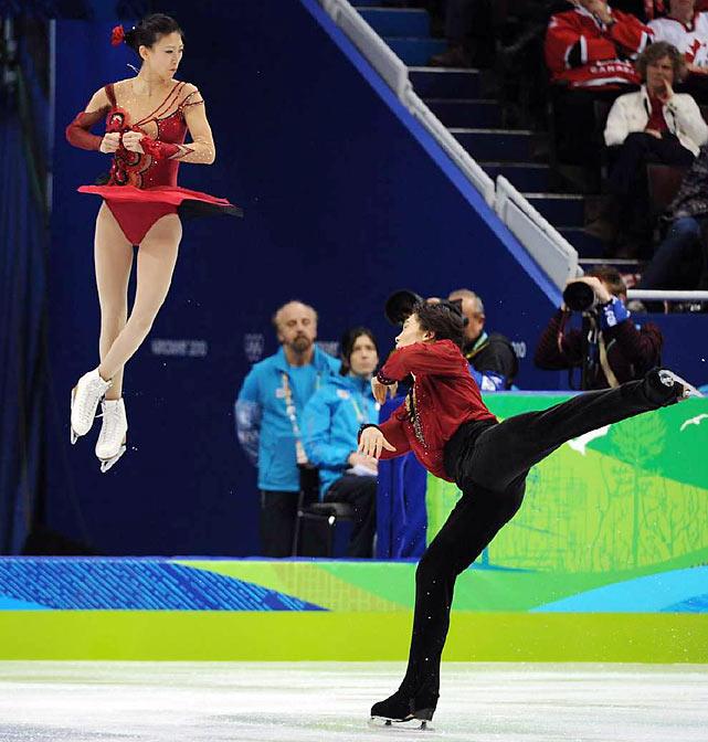 Pang Qing and Tong Jian.