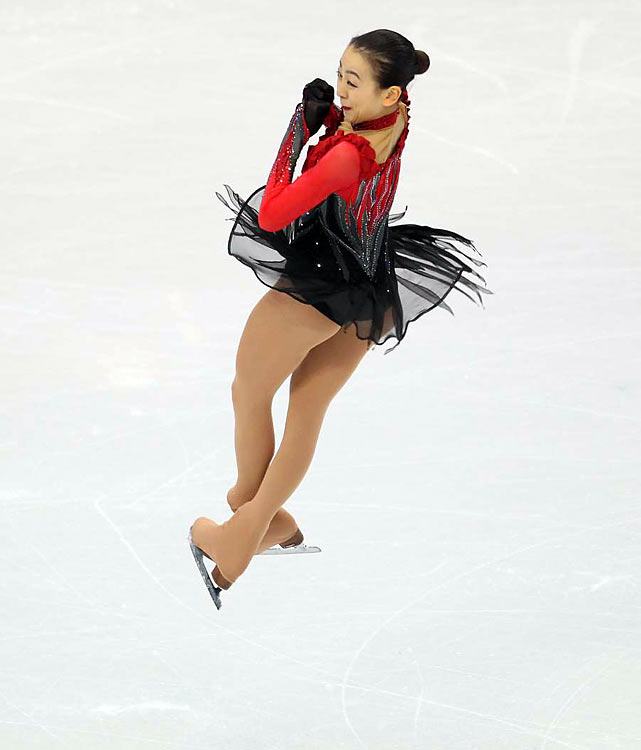 Mao Asada of Japan.