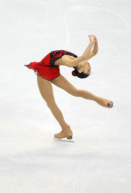 Mirai Nagasu of the U.S.