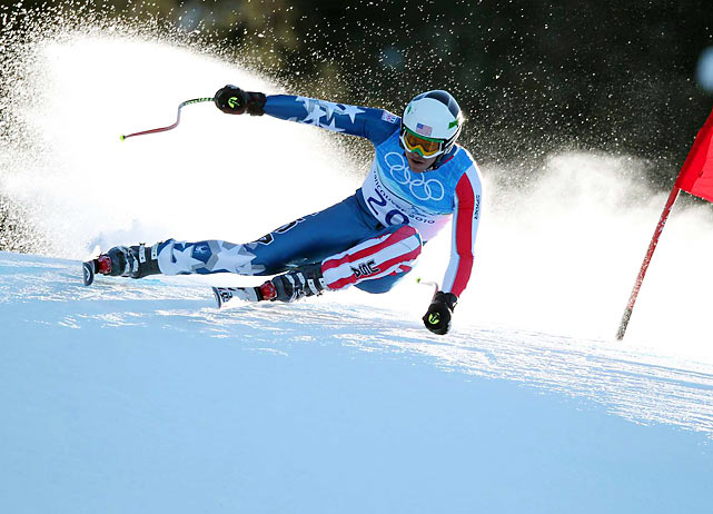 Making amends for his disappointing performance in the 2006 Games in Torino, Bode Miller won the super-combined, giving him a medal of each color in Vancouver. He earned silver in the super-G and a bronze in downhill. His five Alpine medals (two silver in 2002) tie him for the second-most by any man in Olympic history, behind only the eight won by Kjetil Andre Aamodt of Norway.