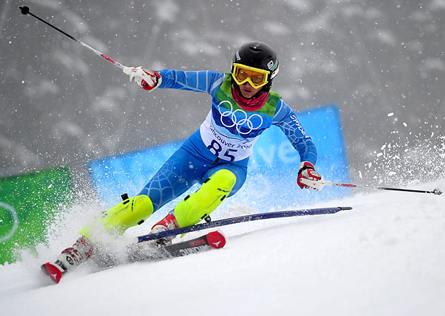 While the results of her Olympic debut may have been nothing to write home about, Marjan Kalhor became Iran's first female skier to participate in the Winter Games.
