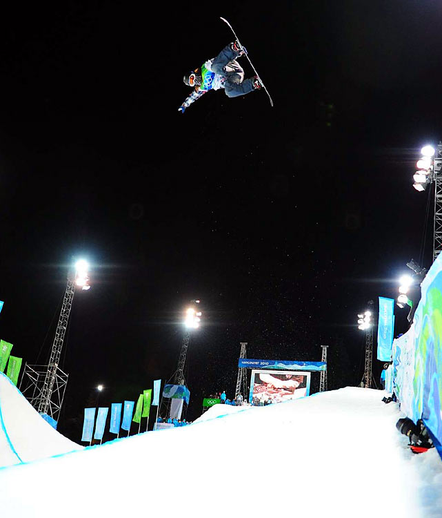 Snowboarding's golden boy Shaun White didn't cease to amaze in Vancouver, winning his second consecutive gold medal in the half-pipe. White had already secured first place heading into his second and final run. He chose not to play it safe, going out in style by landing his extremely difficult Double McTwist 1260.
