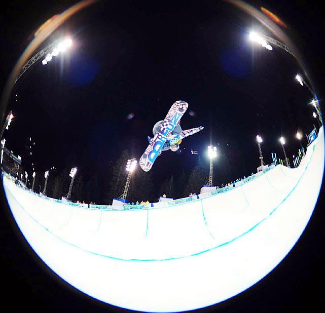 Shaun White of the U.S.