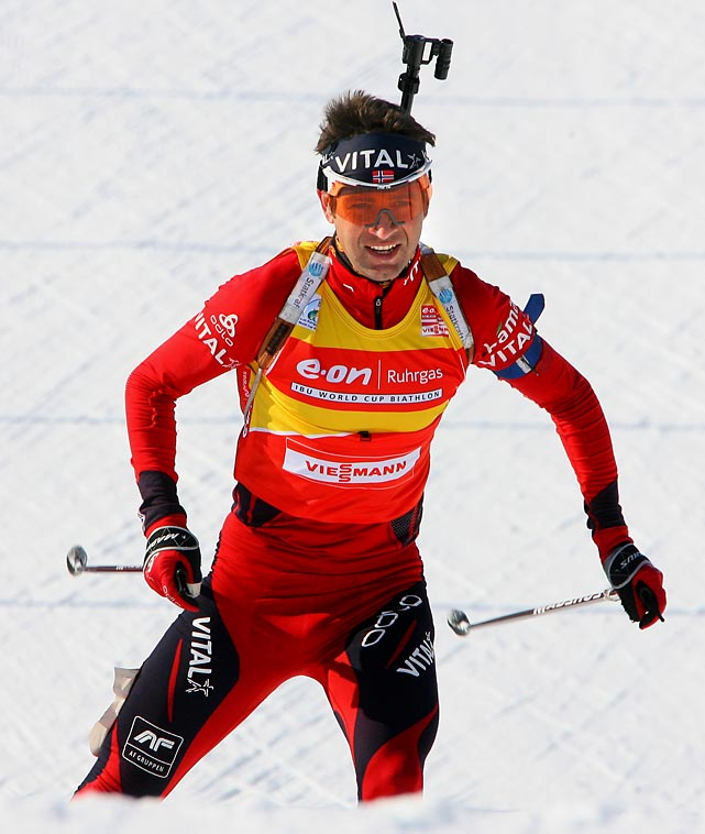 A mainstay on the World Cup and Olympic scene, Bjorndalen comes into his fifth Winter Games after an impressive showing at the 2009 World Championships last February, where he won four golds. He currently needs four medals to surpass countryman Nordic skier Bjoern Daehlie as the most decorated Winter Games athlete; he has nine in four Olympic appearances.