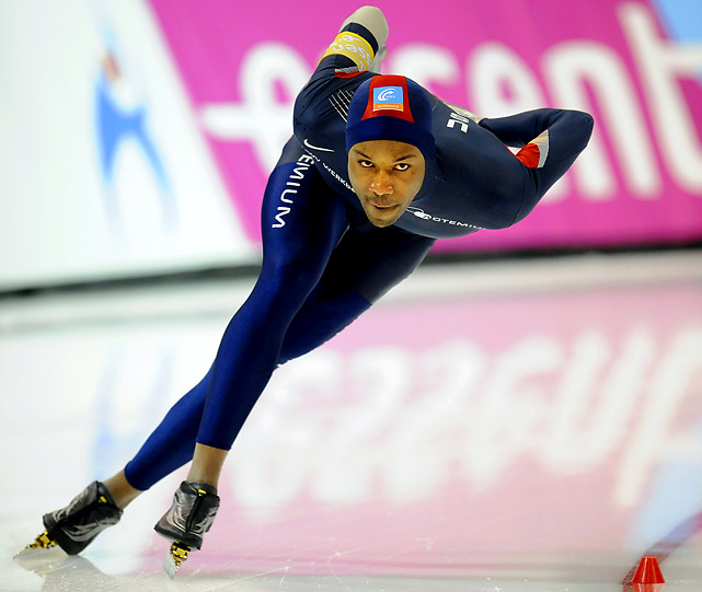 "Davis is the first speedskater to attempt all five individual distances since Eric Heiden swept the events in 1980. The 27-year-old became the first African-American to win an individual gold medal in the Winter Games with his victory in the 1000m, an event, along with the 1500, which he is heavily favored to win. At a Cup race in December, he shattered his own 1500m world record time by .77 of a second, outskating the competition by more than a second.<br><br><i>For complete galleries of figure skaters, men's hockey players, and U.S. snowboarders to watch, click the ""Related Links"" below.</i>"