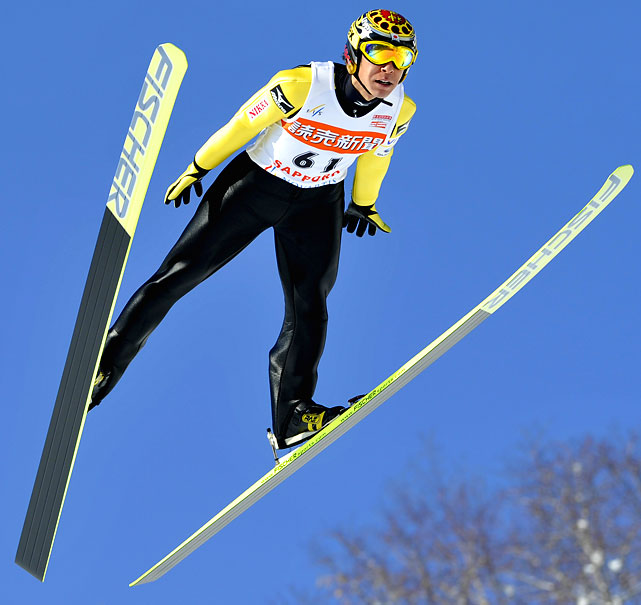 Following a dismal also-ran campaign leading up to and in Turin, Ammann is finally showing signs of his old self, the one that rose through relative obscurity to grab two golds in Salt Lake City. Since 2007, the skier with the Harry Potter likeness has collected world championship medals in gold, silver and bronze, closing out his 2008-'09 season with the second highest point total.