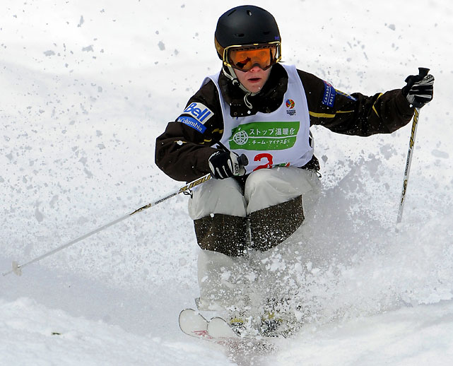 Reigning world champion Heil is on a roll with four Cup victories in January alone, putting her atop the overall standings. Despite her continued success since her gold medal run in Turin, Heil took the 2007-'08 Cup season off to allow her to relearn the sport from a mechanical standpoint. The refreshed 26-year-old is eyeing a repeat performance to get Canada its first gold medal as an Olympic host.