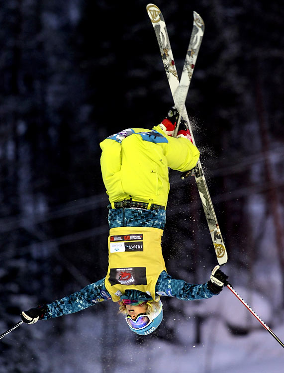A year after finishing seventh to teammate Jennifer Heil's first in Turin, Richards came back to upset Heil in the 2007 World Ski Championships in Italy. Her image has been paraded around as the host country's poster girl, but she's going to again face serious competition from Heil who will come to the Games off a World Cup hot streak.