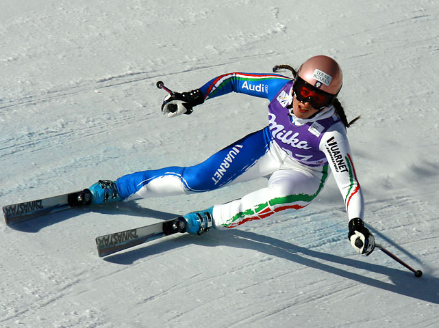 The three-time former world junior champion will represent Italy at her second Olympics after placing no higher than 8th in four events in Turin. Strongest in the speed events, Fanchini hails from a talented group of siblings: older sister Elena and younger sister Sabrina are also active on the World Cup circuit, but will not compete in Vancouver.