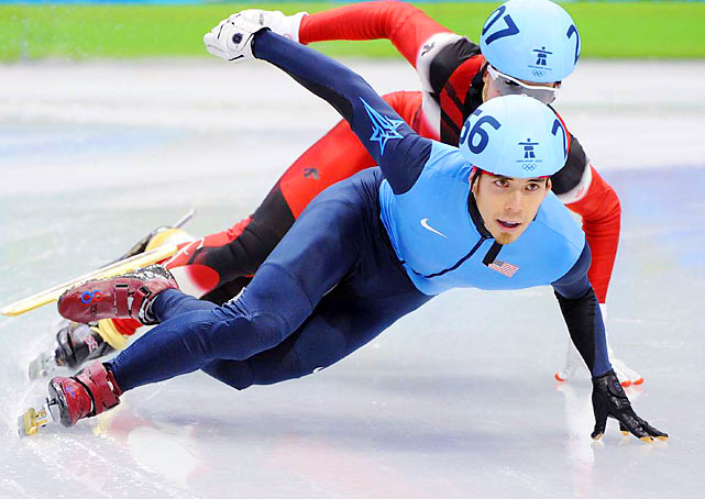 Apolo Anton Ohno of the U.S.