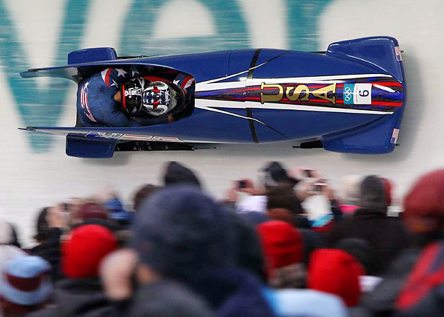 U.S. women's 2 man bobsled