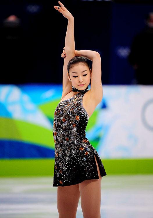 Kim Yu-Na  of Korea.