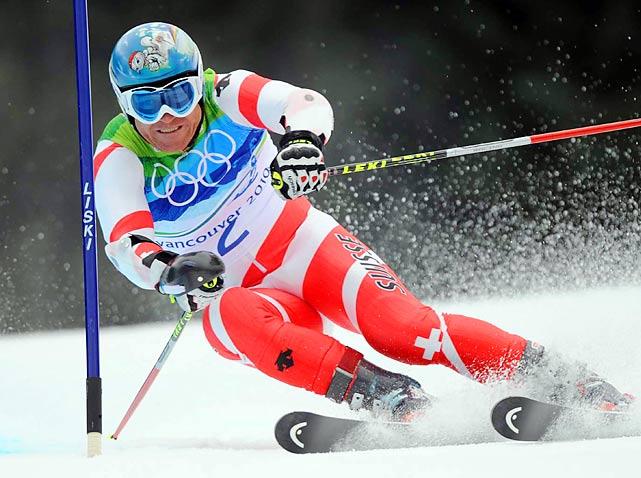 Didier Cuche of Switzerland.