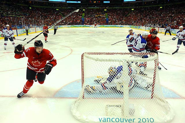 Canadian winger Dany Heatley tied the game at 2-2 early in the second period.
