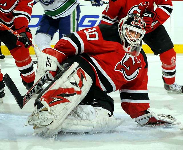 The last 12 months have been marked by the sort of record-smashing achievements that indicate a career winding to a close, but this 37-year-old remains at the top of his game. He may not rank among the leaders in goals-against or save percentage, but Brodeur is tops in the most important category: wins. That's the edge he brings to Team Canada -- the confidence that he'll always make one more stop than the guy at the other end of the rink.