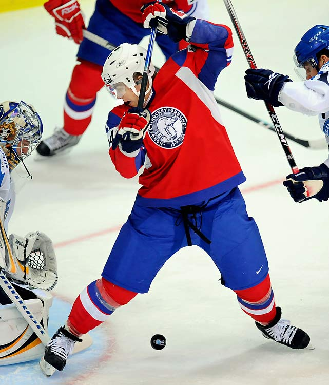 The Norwegians may dominate the Winter Games -- their 280 total medals give them a healthy lead of 63 over second-place Russia -- but they won't be adding to their haul at GM Place. Icing a team with just one NHLer -- Philadelphia defender Ole-Kristian Tollefsen -- they're making their first appearance at the Games since the field was opened to pros. The team will be paced by Skroder, the 31-year-old vet who led Swedish Elitserien with 30 goals and 59 points last season while playing for MoDo.