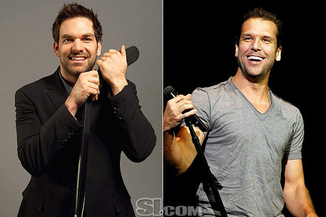 <b>Dan Boyle</b> - <i>defenseman, Canada</i><br> <b>Dane Cook</b> - <i>comedian/actor</i>