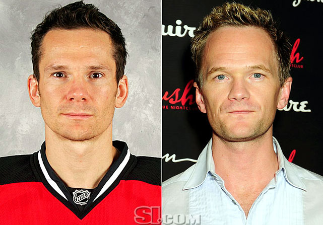 <b>Patrik Elias</b> - <i>left wing, Czech Republic</i><br><b>Neal Patrick Harris</b> - <i>actor</i>