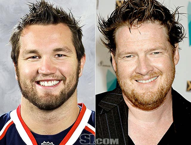 <b>Rick Nash</b> - <i>right wing, Canada</i><br><b>Donal Logue</b> - <i>actor</i>