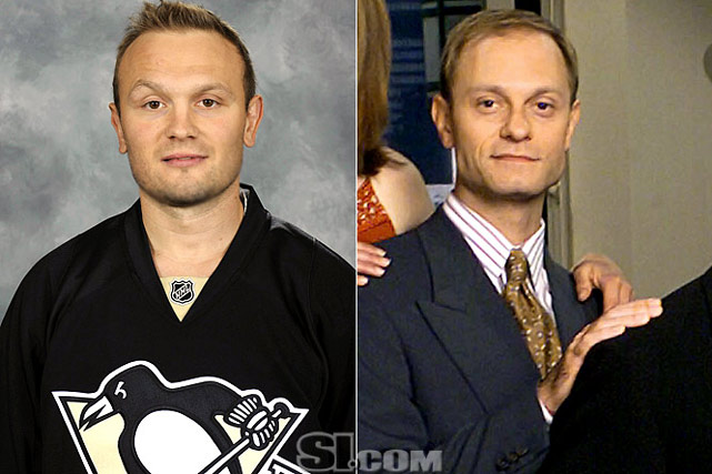 <b>Sergei Gonchar</b> - <i>defenseman, Russia</i><br><b>David Hyde Pierce</b> - <i>actor</i>