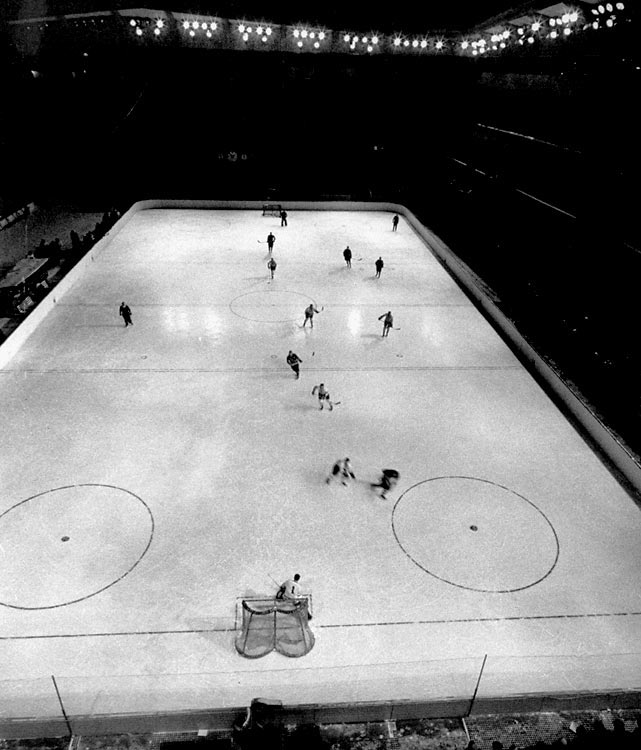 While the Canadians built a stranglehold on Olympic gold, winning six of the first seven tournaments, the Soviets patiently built their program. Joining the IIHF in 1952, they managed their first World Championship just two years later, but it was at Cortina in 1956 that the Russian Bear truly emerged. They swamped the Swedes 5-1 in the opener and blanked the Yanks 4-0. But it was a 2-0 upset of the Canadians (despite being outshot 23-9) that confirmed their arrival. The Soviets went 7-0 to capture gold, the first in a stretch that saw them earn seven of nine championships.