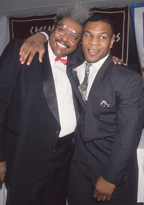 Longtime promoter Don King and Mike Tyson were once a winning combination.