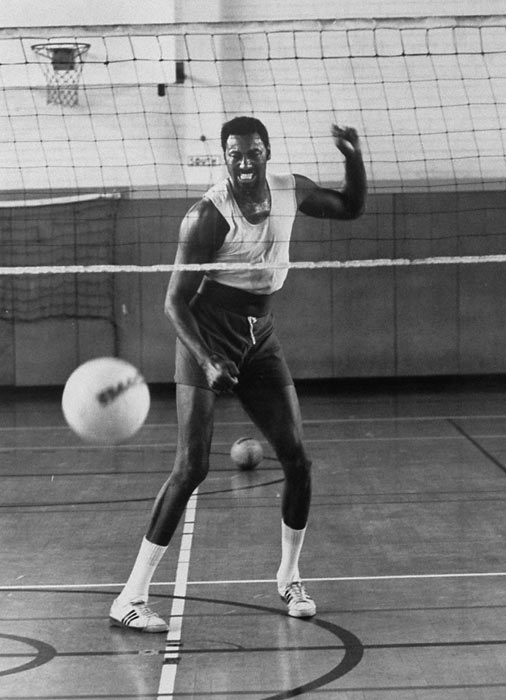 In addition to basketball, Chamberlain had a love for volleyball. He became president of the International Volleyball Association and was later named to the sport's hall of fame.