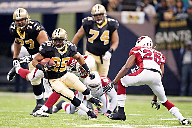 Reggie Bush was nearly a one-man wrecking crew against Arizona, compiling a season-high 84 rushing yards, including a 46-yard touchdown, and returning a punt 83 yards for another touchdown.