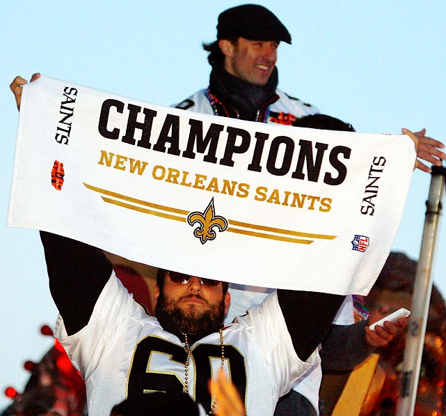 The Saints championship run has been credited for uniting a city that was ravaged by Hurricane Katrina, and has labored to rebuild in its aftermath.