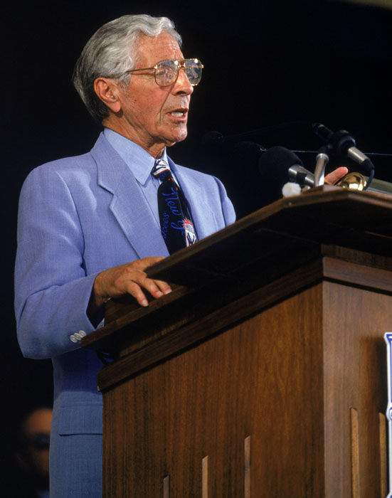 Phil Rizzuto is elected to the Baseball Hall of Fame.