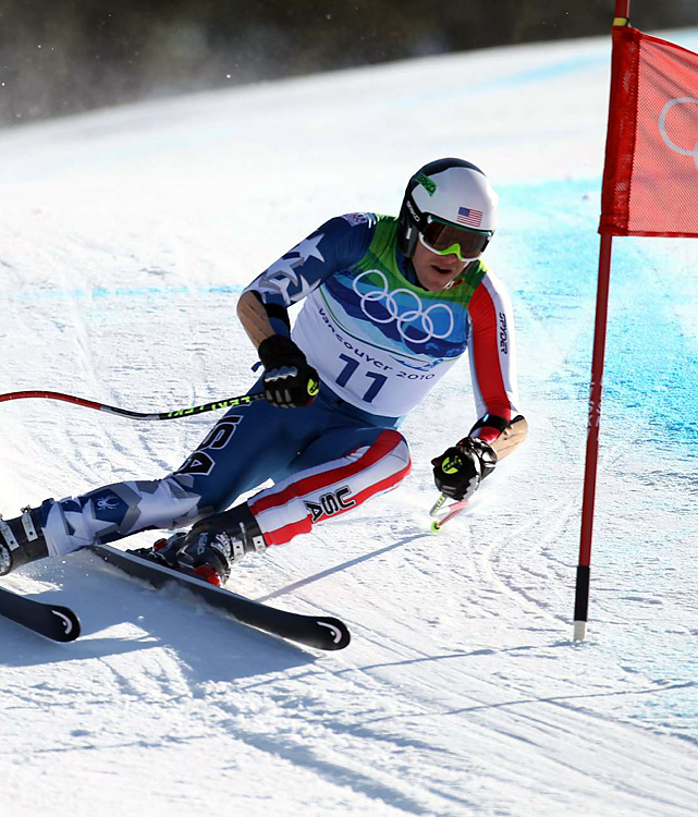 Bode Miller picked up his second medal of the Olympics by earning a silver in the super-G.