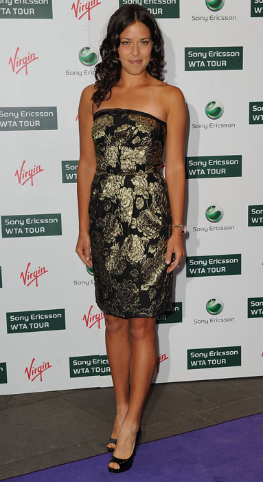 Ana Ivanovic attends the WTA Tour Pre-Wimbledon Party  at the Kensington Roof Gardens in London.