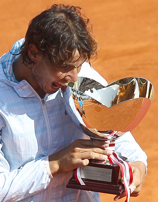 def. Fernando Verdasco, 6-0, 6-1 ATP World Tour Masters 1000, Clay, €2,227,500 Monte Carlo, Monaco