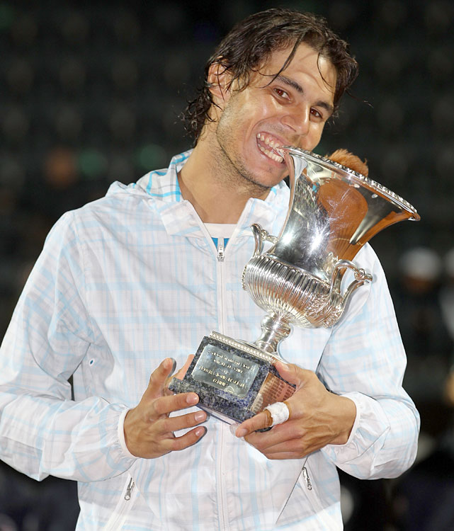 def. David Ferrer, 7-5, 6-2 ATP World Tour Masters 1000, Clay, €2,227,500 Rome, Italy