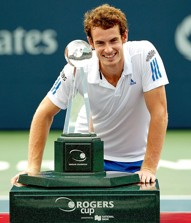def. Roger Federer, 7-5, 7-5 ATP World Tour Masters 1000, Hard, $2,430,000 Toronto, Canada