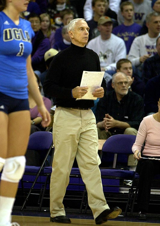Legendary UCLA coach Andy Banachowski is leaving the sport as the winningest women's volleyball coach in Division I history. With a career spanning the entire life of the UCLA volleyball program, save two seasons, Banachowski walks away with 1,106 wins and six national championships.  Send comments to siwriters@simail.com