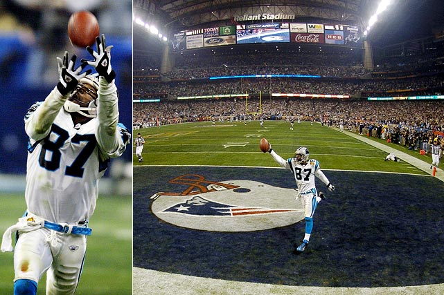 "A two-time Pro Bowl receiver, Muhsin Muhammad decided to hang up his cleats after 14 seasons when Carolina made no effort to re-sign him this offseason. A fan favorite affectionately known as ""Moose"" to the Panthers' faithful, Muhammad finished his career with 860 receptions, including 62 for touchdowns. Muhammad shined in two Super Bowl appearances -- one each with Carolina and Chicago -- catching seven balls for 175 yards and two touchdowns. His 85-yard touchdown catch from Jake Delhomme in Super Bowl XXXVIII stands as the longest offensive play in Super Bowl history."