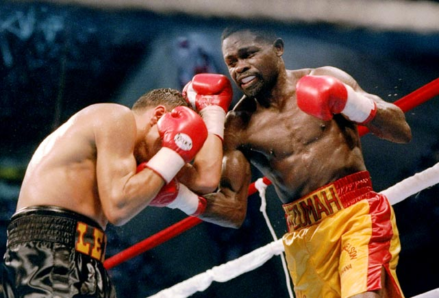 Perhaps the greatest African-born fighter of all-time, Nelson captured titles at featherweight and super featherweight during the '80s and '90s.