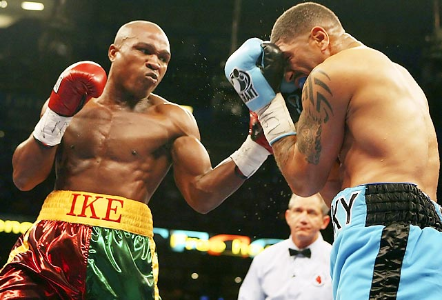 Quartey, who made seven defenses of the WBA welterweight title from 1994 through '97, is best known for his thrilling split-decision loss to Oscar De La Hoya in 1999.
