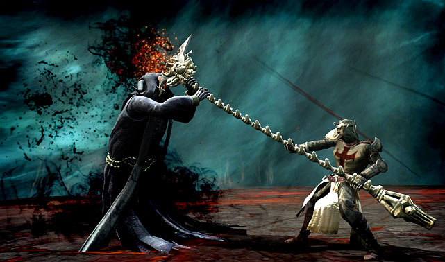 In Dante's Inferno you're a crusader fighting your way through hell to retrieve your fiancé, Beatrice. The game utilizes a similar system to the God of War franchise, which features an overhead perspective on the action, with a large dose of combat using various scythe attacks and some strategic button mashing. You'll also use magic relics to unleash damage on the hordes of enemies and bosses scattered in your downward descent through the rings of hell. The graphics and scenery in the game are varied and crisp. However, the game is very adult, featuring plenty of gore and nudity, and at times pushes its M for Mature rating. <br><br><b>Score: 8/10</b>