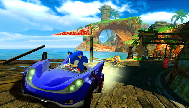 All-Stars Racing offers up a surprisingly addictive brand of cart racing that feels solid and intuitive. The game features a wide array of classic SEGA characters to race with, but the depth comes from a healthy amount of well designed tracks. During races you'll use power-ups to get past the field -- in an experience that's very reminiscent of Mario Kart. But unlike its Mario equivalent, you can play the SEGA game on your PS3 and 360, fulfilling a sizeable gap for both next gen systems. The graphics in the game are vibrant, and there's plenty of gameplay modes to keep you busy as a single player or in online multiplayer.<br><br><b>Score: 8/10</b>