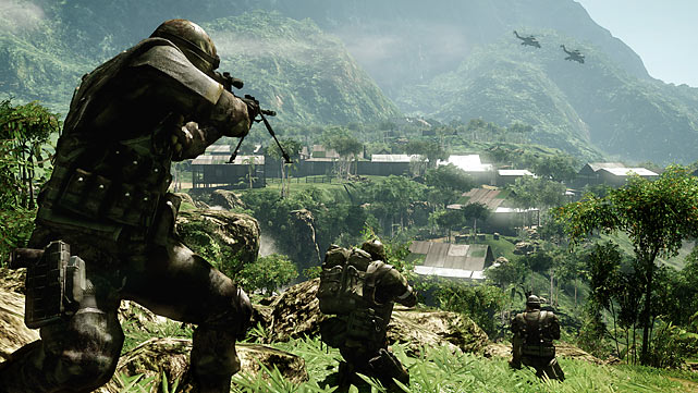 The first-person war shooter is a genre that has flooded the market over the past few years. Bad Company 2 is the latest to join the ranks, but right away you'll realize it's a huge improvement over the first game. The plot is pretty contrived -- your unit must track down an enigmatic super weapon dating back to World War II -- but it doesn't really matter. The action in the game is engaging and varied, as you get missions in vehicles, as a sniper, defending positions and plowing through enemy positions. The graphics are very good, and the amount of destructible elements throughout lends a real-world feel. The campaign is pretty short, but the game delivers a very strong multiplayer experience to make up for the length. With a good selection of modes and options, the multiplayer does a great job emphasizing team play.<br><br>Rating: 9/10