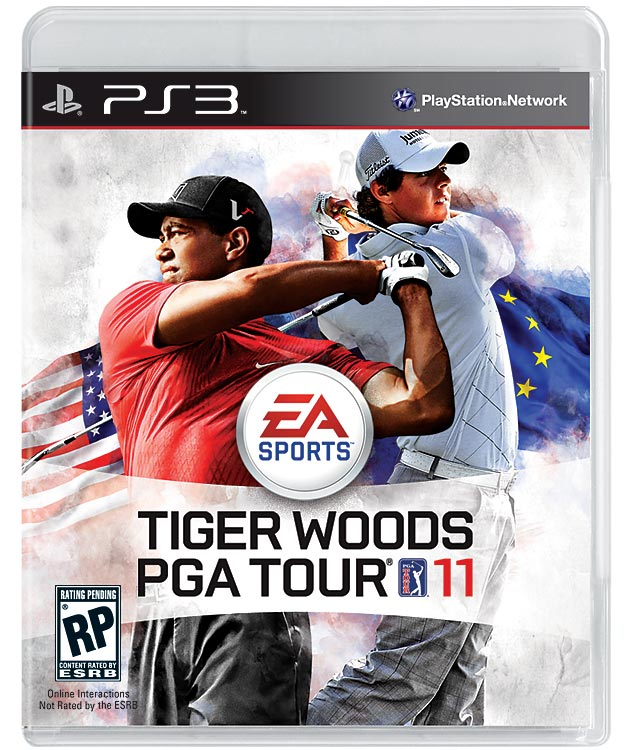 He's back, and he's not alone. For the first time, Tiger Woods will have company on the game cover of EA's popular PGA Tour series. You might think the decision to include golfer Rory McIlroy on the cover was a result of Tiger's scandalous off-field activities, but EA says the shared cover is intended to enhance a new Ryder Cup mode that allows players to compete on teams in the prestigious event. Want Tiger on your team?