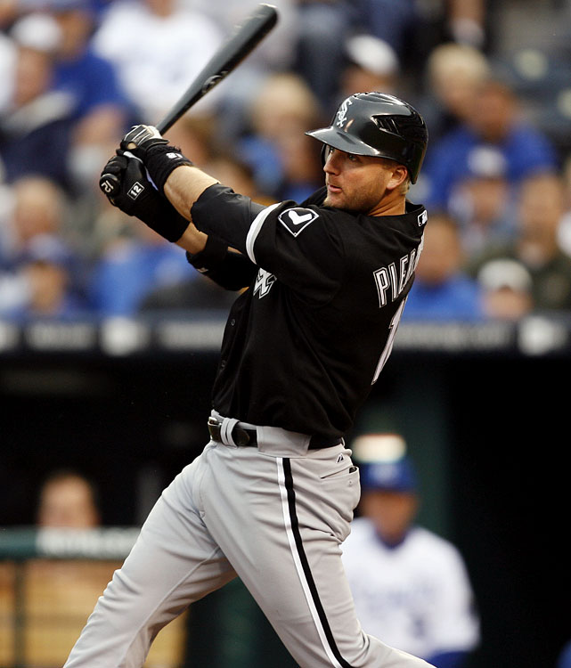 "Pierzynski is the baseball equivalent to the ""comfortable old shoe,"" a certifiable lock for <b>14 HRs, 56 RBIs, 62 runs and .297 average</b> -- with little variation either way. If you're a proponent of drafting catchers in the late rounds, A.J. represents perfect fantasy value in that area."