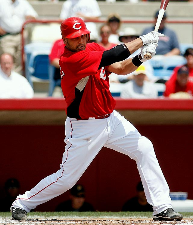 Speaking of launching pads, how is it possible that Hernandez clubbed only five homers last season while playing half his games at cozy Great American Ballpark? Talk about a fluke occurrence. With the assumption of 130 games, <b>we're guaranteeing 17 homers and 73 RBIs</b> in 2010. (And feel free to mock us if horribly wrong.)